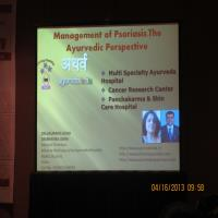 Dr.Gaurang at Chicago Dermatology Conference,USA