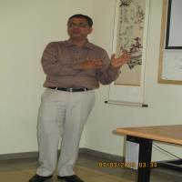 Dr.Gaurang At Tel Aviv Uni.Israel as Faculty...